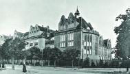 Das Botanische Museum um 1910, Postkarte